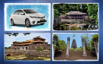 hue private car city tour citadel thien mu pagoda