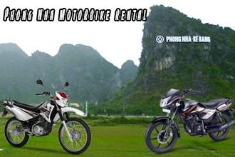 Phong nha motorbike rental