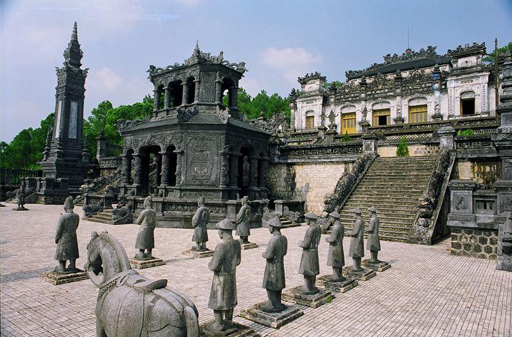 KHAI DINH TOMB, Hue Vietnam