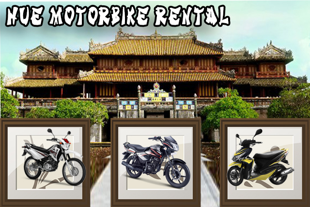 Motorbike rental in Hue
