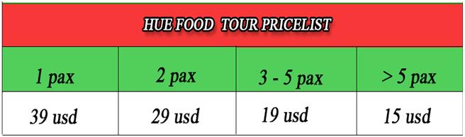 hue stress food tour price