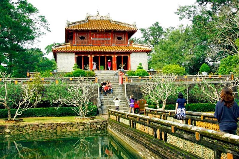 Minh Mang Tomb Hue monuments