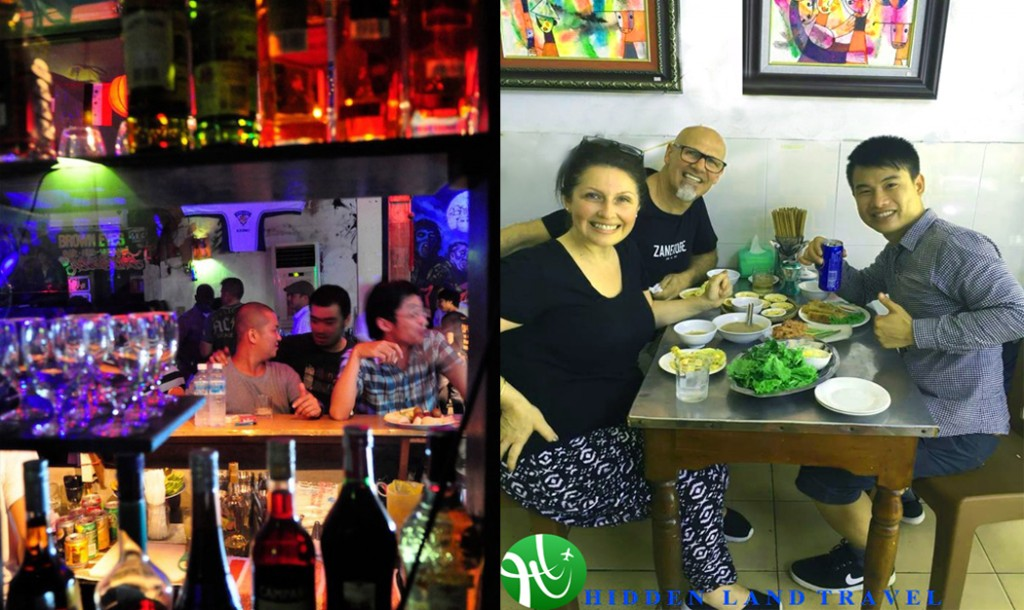 hue street food tour by night
