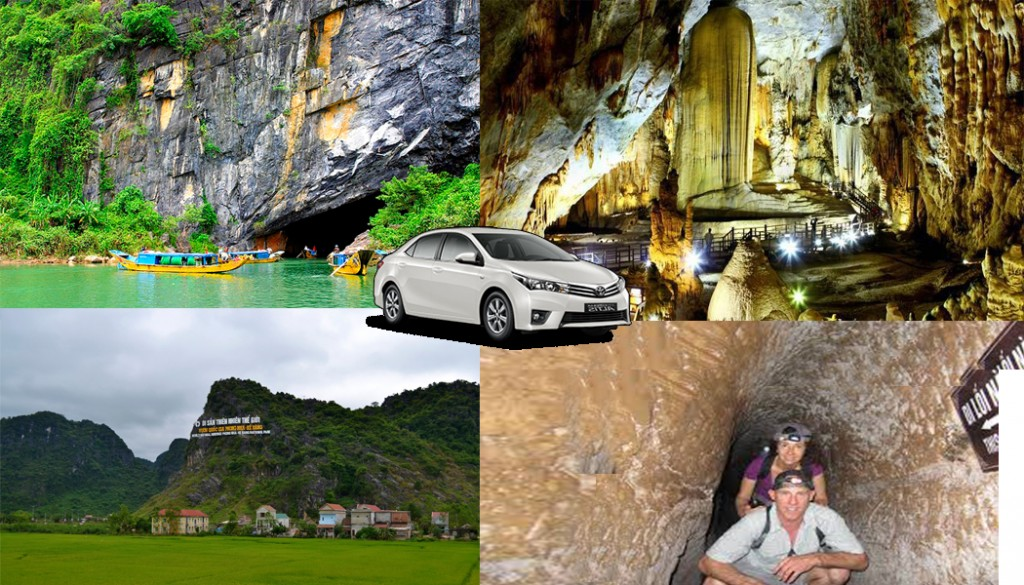Never miss Hue to Phong Nha tour by private car-Hidden Land Travel