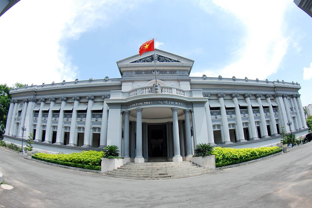 Mauseum in Ho Chi Minh múoleum